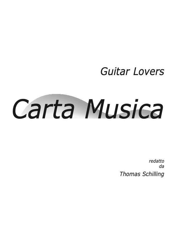 Guitar Lovers Carta Musica